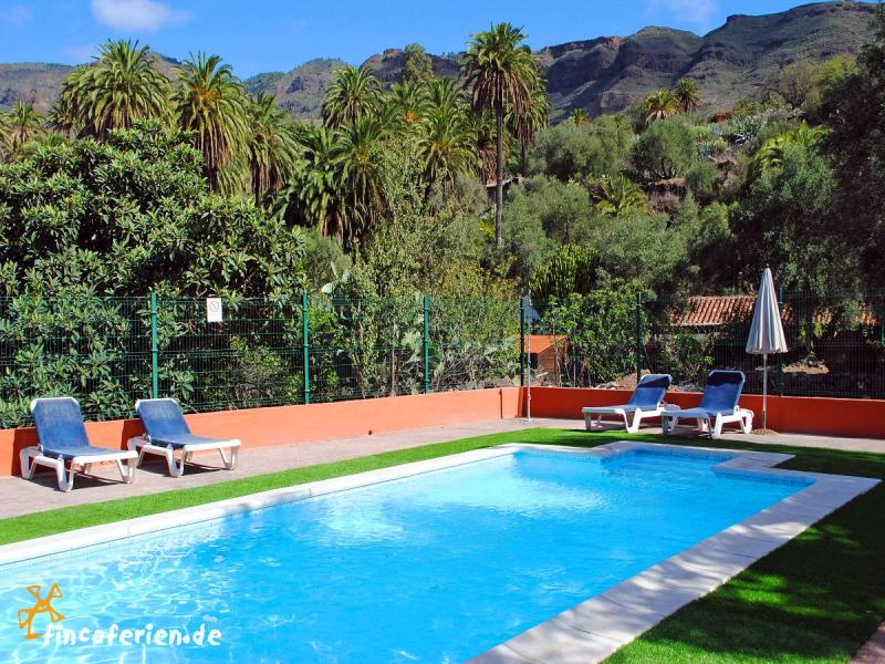 wandern auf gran canaria finca mit pool klimaanlage internet fincaferien. Black Bedroom Furniture Sets. Home Design Ideas