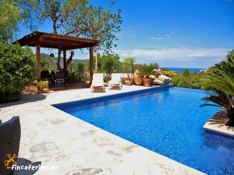 ibiza urlaub finca mit pool panoramablick san augustin fincaferien finca. Black Bedroom Furniture Sets. Home Design Ideas