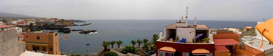 Strandnahe Ferienwohnung in Alcalá mit Meerblick, Internet und Gemeinschaftsterrasse