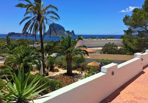 Ibiza Ferienhaus mit Meerblick, Cala Carbo, Es Vedra (Nr. 0104)