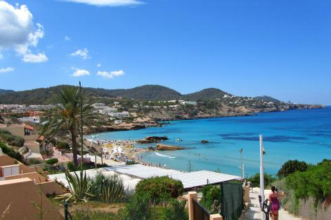 Ibiza Ferienhaus für Strandurlaub, Cala Tarida (Nr. 0134)