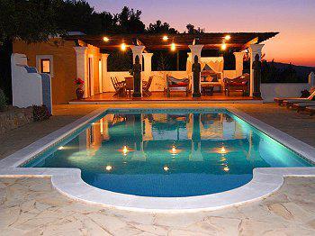 Ibiza Urlaub in freistehender Finca mit Pool San Carlos (Nr. 0182)