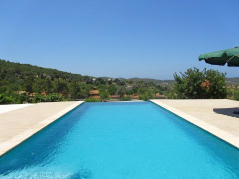 Ibiza Apartment mit Pool und Klimaanlage bei Santa Agnès (Nr. 0052)