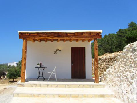 Studio mit Klimaanlage in ruhiger, ländlicher Lage bei Santa Agnès  (Nr. 0053)