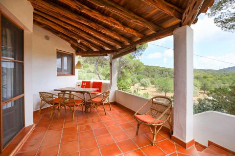 Ibiza strandnahe Ferienwohnung in Cala Llenya (Nr. 0116)