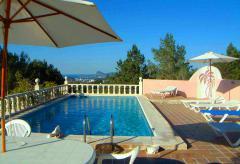 Urlaub auf Ibiza - Ferienhaus mit Pool (Nr. 0040)