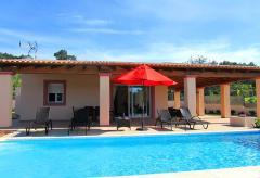 Klimatisiertes Ferienhaus mit Pool - nahe Santa Eulalia  (Nr. 0042)