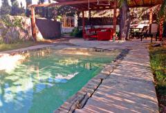 Strandnahes Ferienhaus mit Pool privat mieten (Nr. 0112)