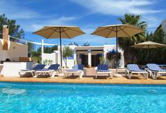 Ferienhaus für 12 Personen mit Pool in Sant Rafael (Nr. 0147)
