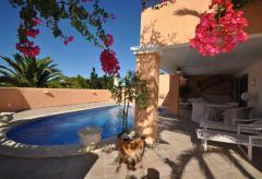 Cala Tarida - Ferienhaus mit Pool (Nr. 0150)