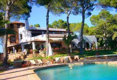Ibiza Villa am Meer mit Pool und Internetanschluss (Nr. 0162)