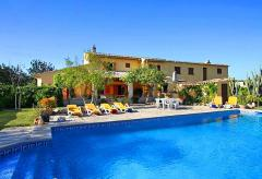 Pollenca - großes privates Ferienhaus mit Pool (Nr. 3053)