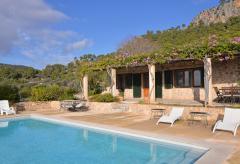 Mallorca Finca mit Pool und Meerblick bei Camp de Mar (Nr. 0410)