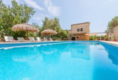 Mallorca Familienurlaub - Finca für 12 Personen mit Pool (Nr. 0434)
