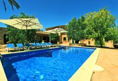Ferienhaus mit Pool im Süden von Mallorca (Nr. 0636)
