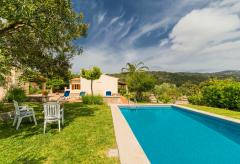 Ferienhaus mit Pool und Klimaanlage am Ortsrand von Pollenca (Nr. 0645)