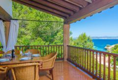 Cala Blava: strandnahes Ferienhaus mit Pool und Klimaanlage (Nr. 0695)