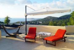 Ferienwohnung mit Dachterrasse und tollem Meerblick - Cala Vadella (Nr. 0115)