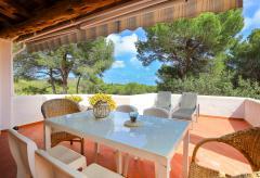 Ibiza strandnahe Ferienwohnung an der Ostküste in Cala Llenya (Nr. 0119)