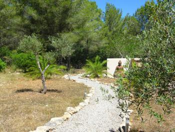 Naturbelassener Garten