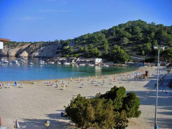 Der Strand der Cala Vadella