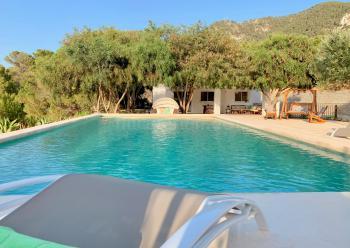 Ferienhaus mit Pool und Solarenergie