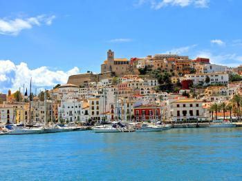 Blick auf Eivissa (Ibiza-Stadt)
