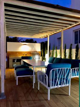 Terrasse und Grillecke