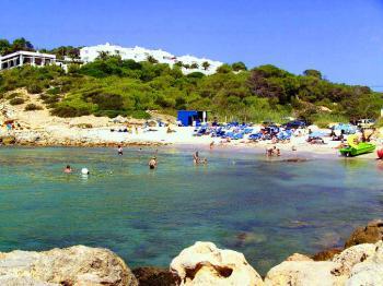 Strand der Cala Codolar
