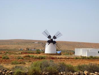 Historische Windmühle Fuerteventura