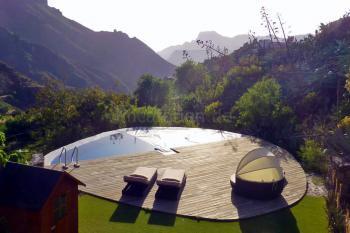 Ferienhaus mit beheiztem Pool bei Tejeda