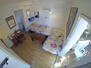 Schlafbereich mit 2 Einzelbetten