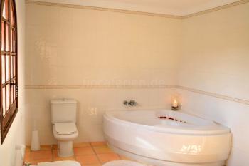 Bad en Suite im Obergeschoss