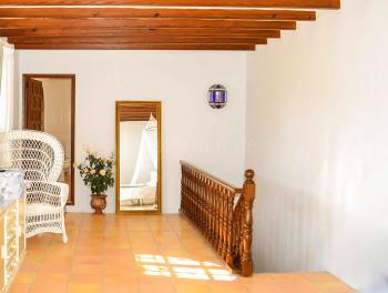 Treppe zum Schlafzimmer mit Bad en Suite