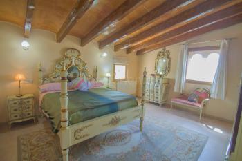 Schlafzimmer im barocken Stil