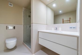 Duschbad im Untergeschoss