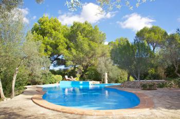 Ferienhaus mit privatem Pool - Cala Murada