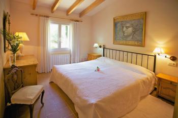 Schlafzimmer mit Zentralheizung