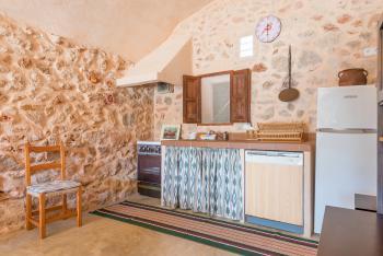 Rustikale Wohnküche