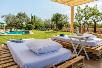 Chill-Out-Liegen - ideal zum Relaxen