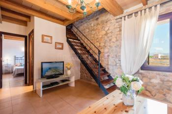 Wohnzimmer mit Sat-TV , Internet W-LAN
