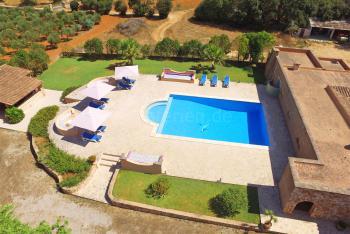Familienfinca mit großem Pool bei Felanitx
