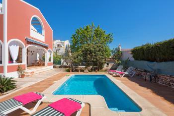 Ferienhaus für 5 Personen mit Pool