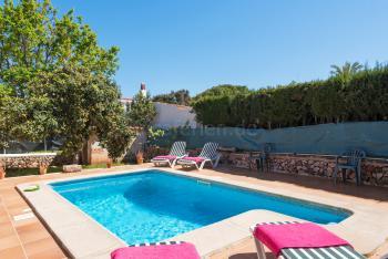 Ferienhaus mit Pool bei Ciutadella