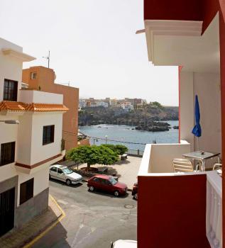 Apartment mit Balkon und Meerblick