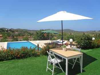 Private Terrasse mit Panoramablick