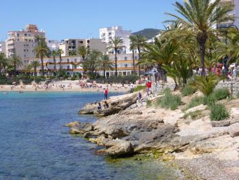 Wenige Meter zum Strand Ses Figueretes
