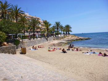 Ferienwohnung am Strand von Ses Figueretes