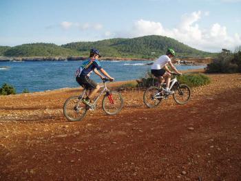 Mountainbike-Tour auf Ibiza