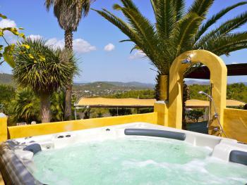 Whirlpool mit tollem Panoramablick
